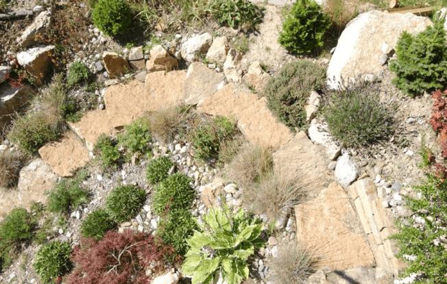 création d'escalier de jardin